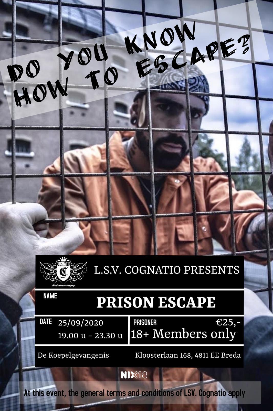 Prison Escape Breda! (18+)