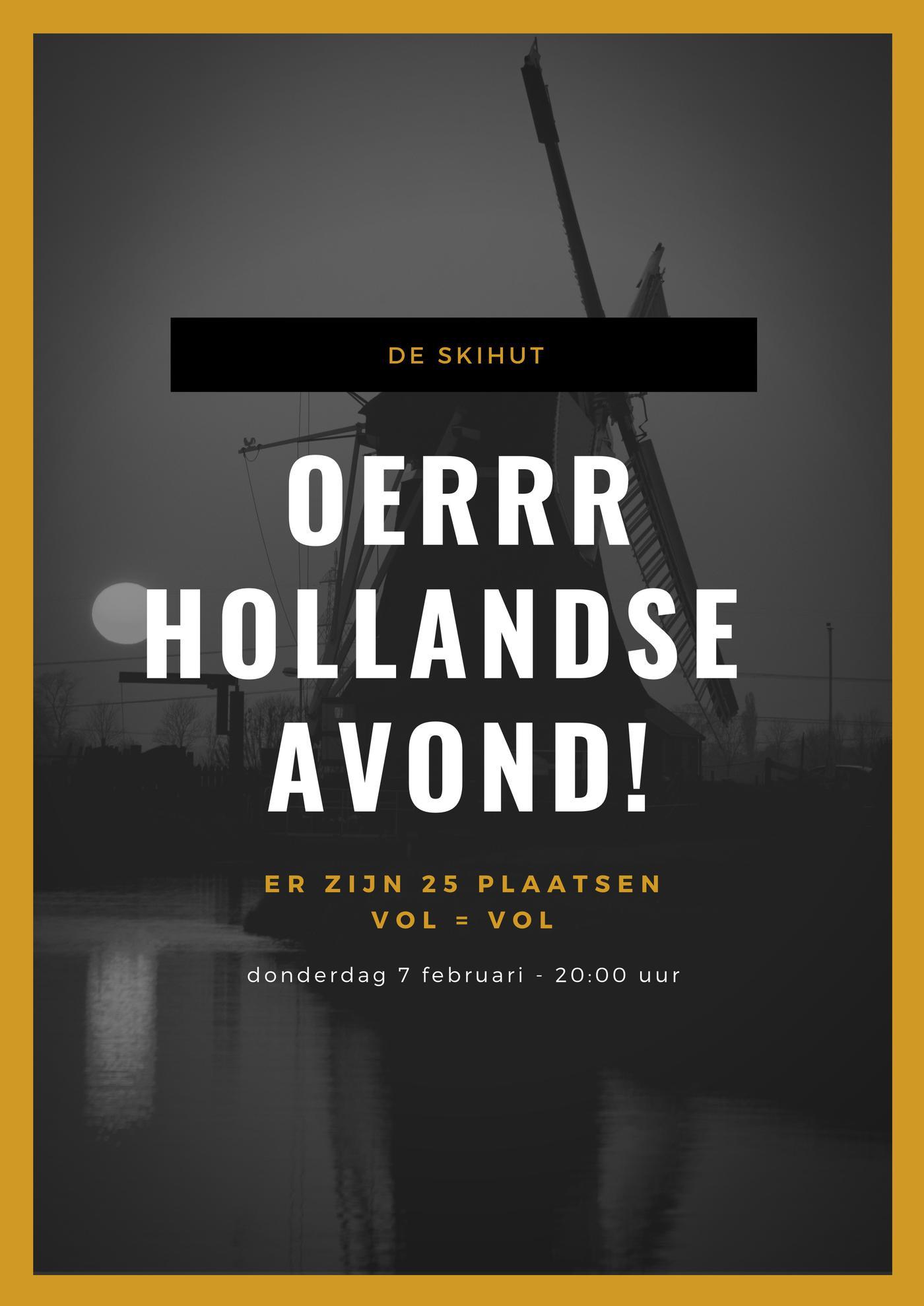 ROT] Hollandse avond