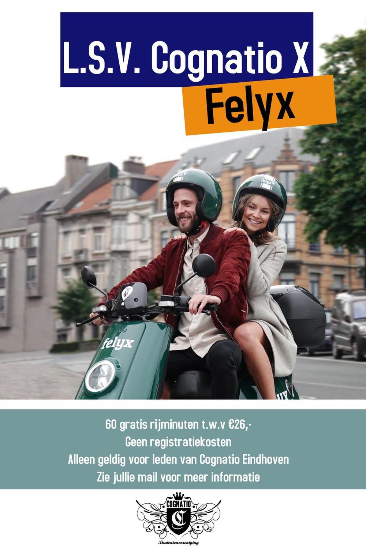 Samenwerking Felyx-scooters